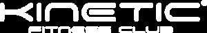 Kinetic Fitness Club - Logo Białe